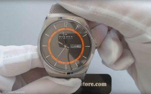Skagen-SKW6007-Analoguhr-mit-grauem-Titangehaeuse