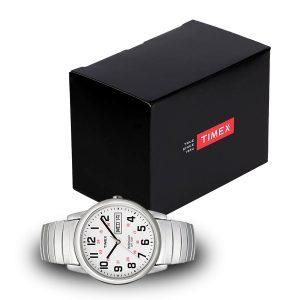 Timex-Easy-Reader-T20461-Herrenuhr-mit-schwarzer-Geschenkbox