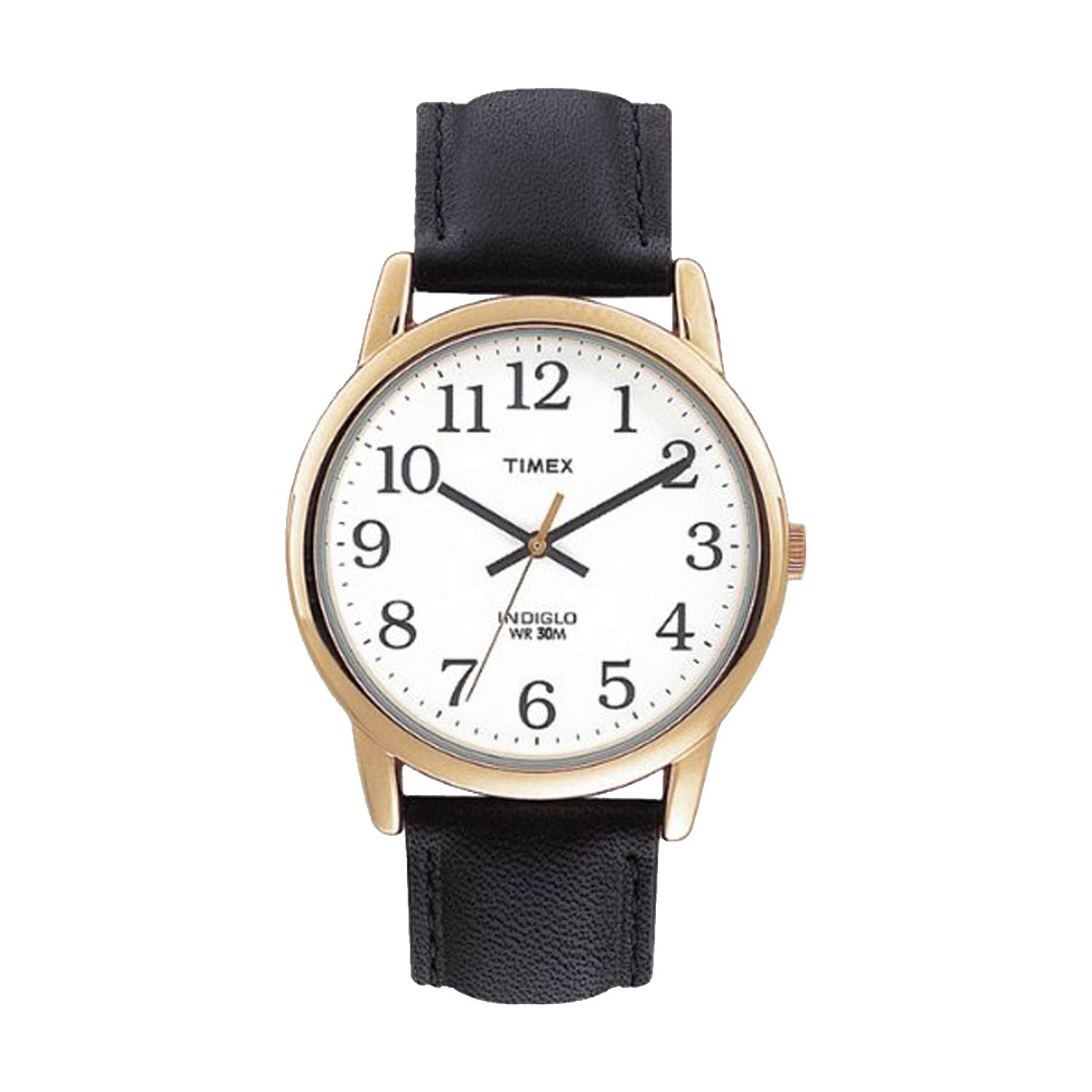 timex easy reader t20491 herren business uhr in gold wei schwarz. Black Bedroom Furniture Sets. Home Design Ideas