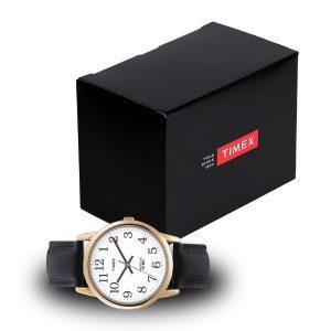 Timex-Easy-Reader-T20491-Herrenuhr-mit-Geschenkbox-Schwarz