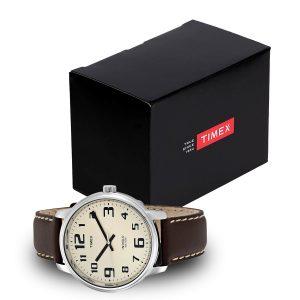 Timex-Easy-Reader-T28201-Herrenuhr-mit-Geschenbox-in-Schwarz