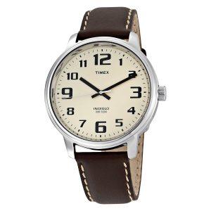 Timex-Easy-Reader-T28201-klassische-Herren-Armbanduhr-in-Schwarz-Silber