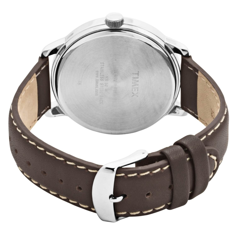 timex easy reader t28201 herren armbanduhr in schwarz silber. Black Bedroom Furniture Sets. Home Design Ideas