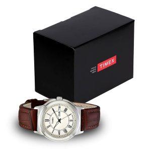 Timex-Elevated-Classics-T2E581-Herrenuhr-mit-Geschenbox-Maennergeschenk