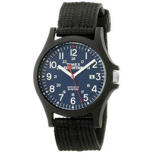 Timex-Expedition-Acadia-TW4999900-schwarze-Herren-Armbanduhr-mit-Textilarmband
