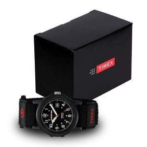 Timex-Expedition-Camper-T40011-mit-Timex-Box-Schwarz