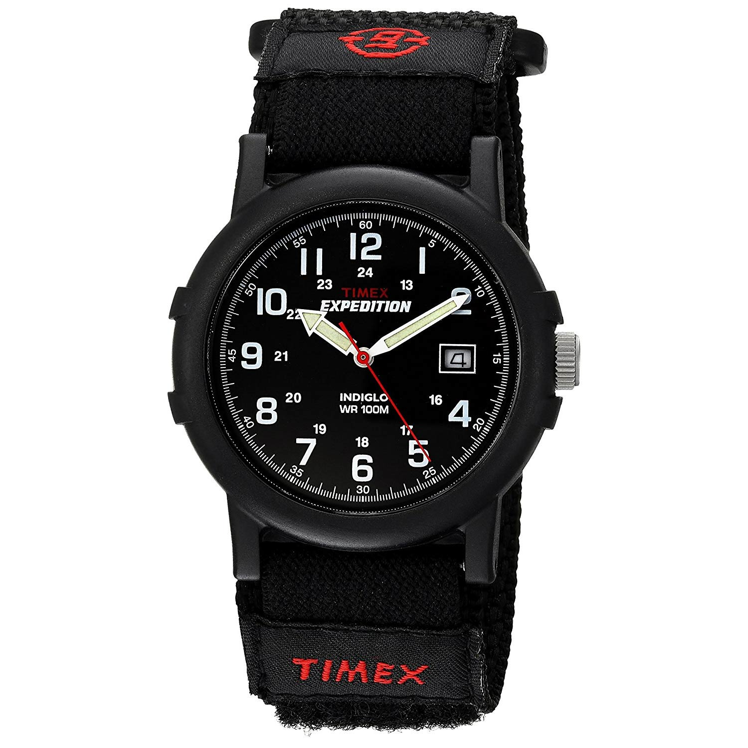 timex expedition camper t40011 schwarze outdoor uhr f r herren. Black Bedroom Furniture Sets. Home Design Ideas