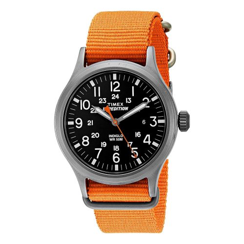 Timex-Expedition-Scout-TW4B046009J-Quarzuhr-mit-Nato-Armband-in-Orange
