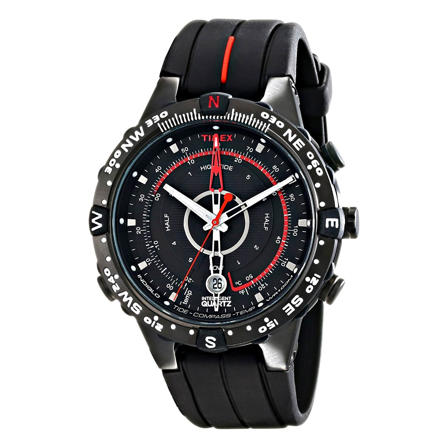 timex expedition t2n720 e tide compass armbanduhr. Black Bedroom Furniture Sets. Home Design Ideas