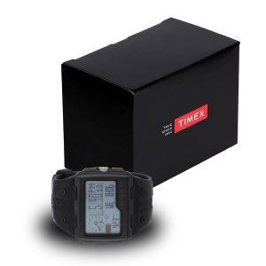 Timex-Expedition-T49664-schwarze-Digitaluhr-mit-Geschenkbox-Schwarz