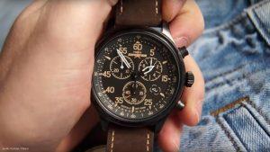 Timex-Expedition-T49905-Maenneruhr-mit-Tachymeter-und-Lederarmband