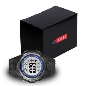 Timex-Marathon-T5K359-Herrenuhr-mit-schwarzer-Uhrenbox-Geschenbox