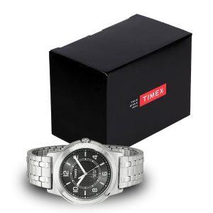 Timex-Street-TW2P61800-Herrenuhr-mit-schwarzer-Geschenkbox