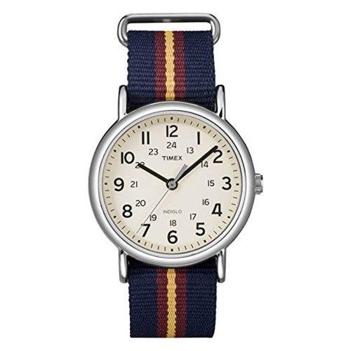 Timex-Weekender-T2P234PF-Quarzuhr-mit-Nato-Textilarmband-und-Mineralglas