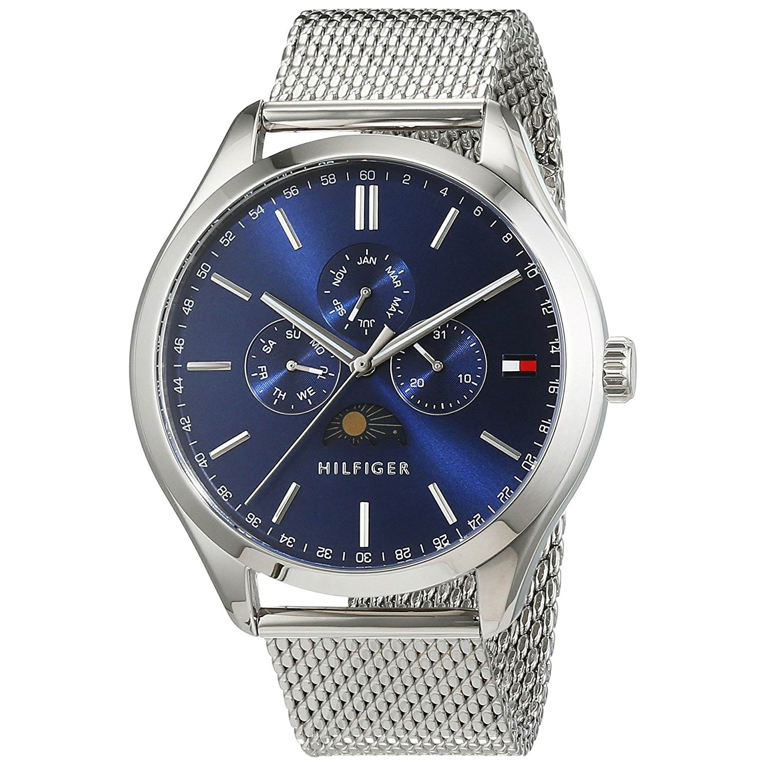 Tommy-Hilfiger-Sport-Luxury-1791302-Herrenuhr-mit-Mondphasen-Funktion