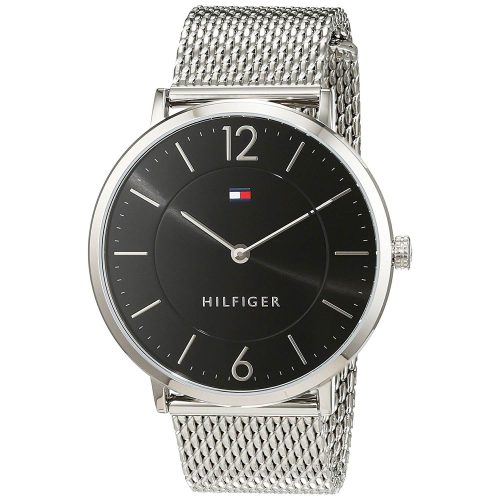 Tommy-Hilfiger-Ultra-Slim-Sophisticated-Analoguhr-1710355-mit-Netzarmband