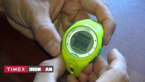Wasserdichte und leichte Timex GPS-Uhr mit Kalorien-Tracker