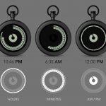 Ziiiro-Taschenuhr-mit-Digitaldisplay-in-12-und-60-Segmente