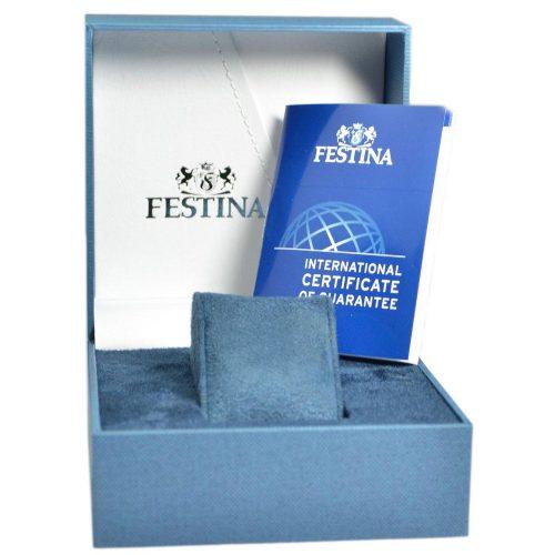 Geschenkbox Festina Herrenuhr mit Zertifikat