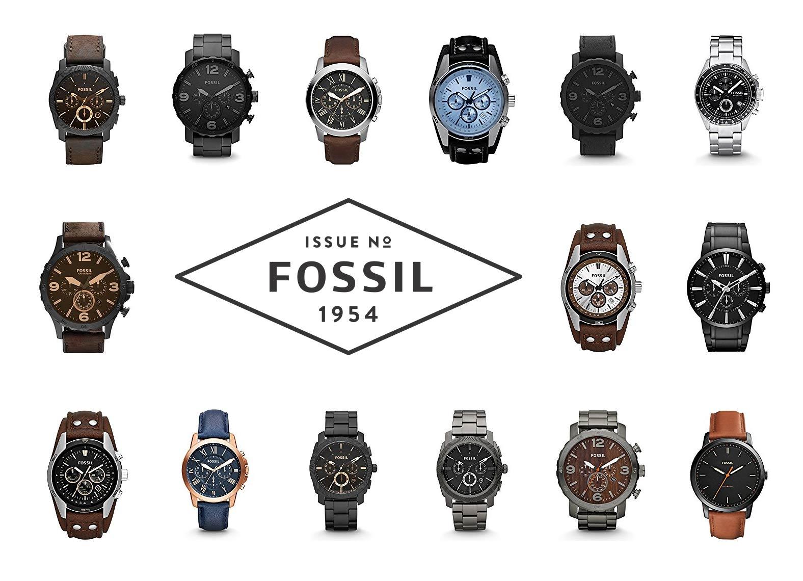 fossil uhren herrenuhren armbanduhren f r m nner. Black Bedroom Furniture Sets. Home Design Ideas