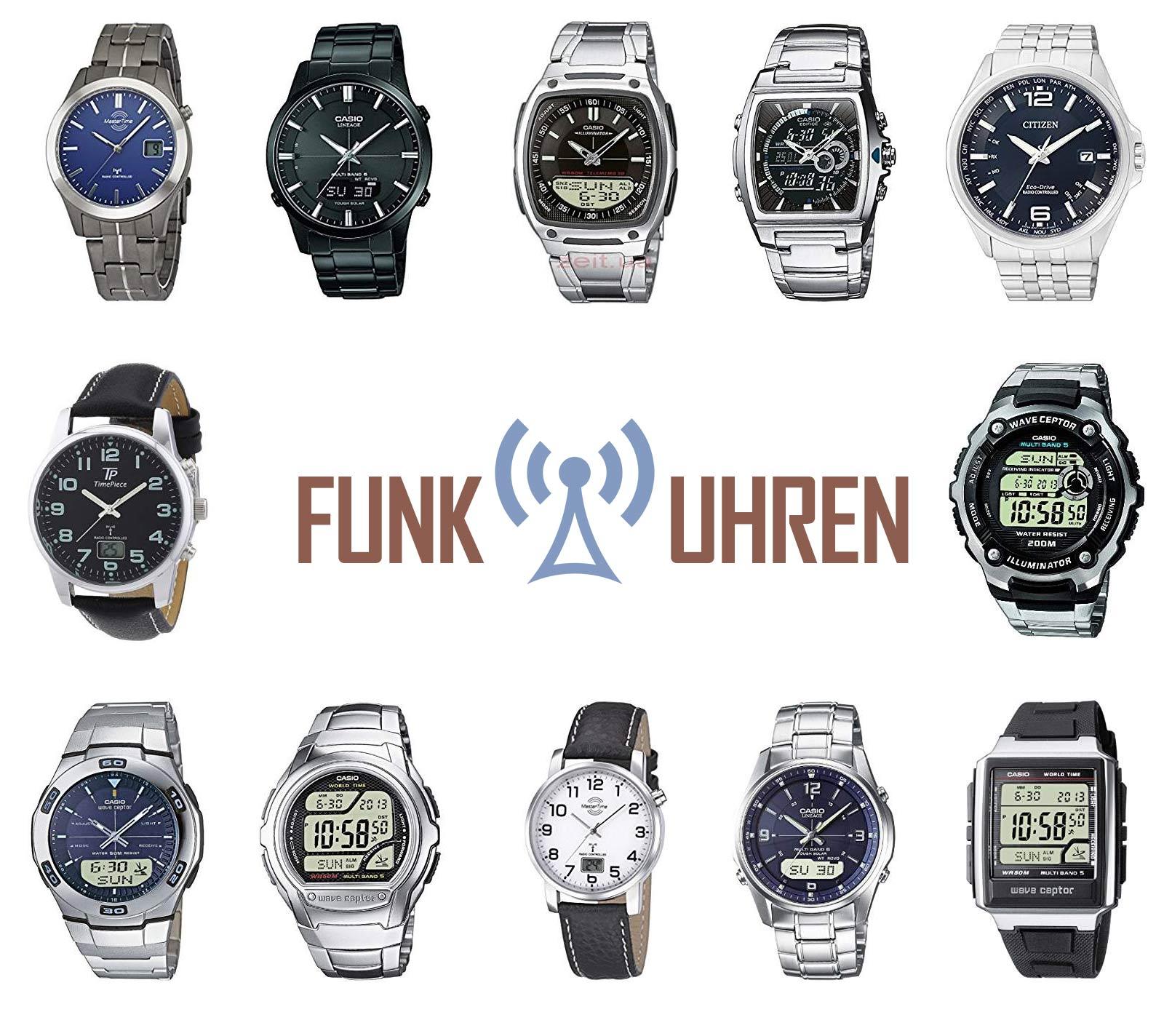 armbanduhren herren funkuhren