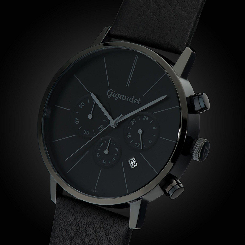gigandet chronograph minimalsim g32 business uhr mit. Black Bedroom Furniture Sets. Home Design Ideas