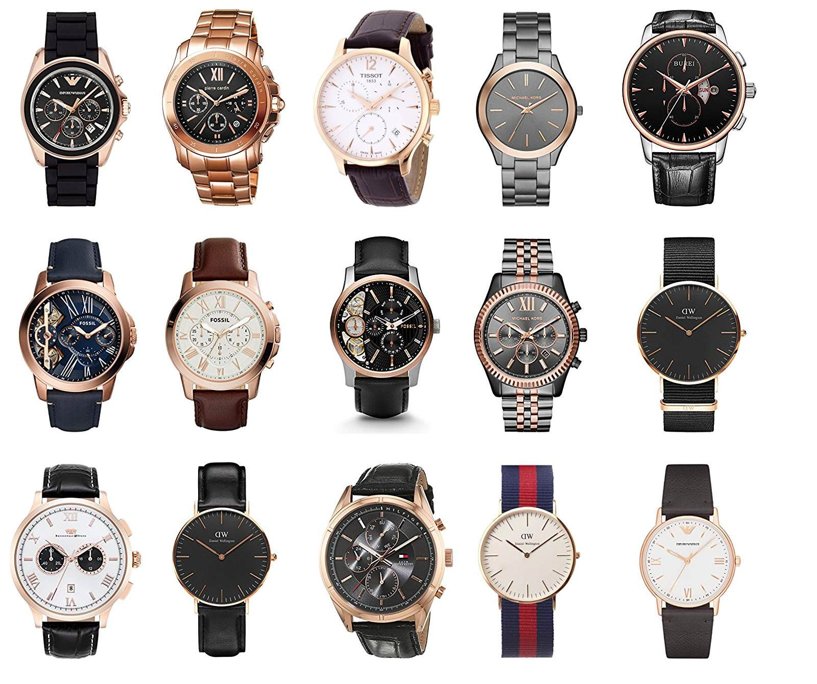 herrenuhren ros gold die besten ros goldenen armbanduhren. Black Bedroom Furniture Sets. Home Design Ideas