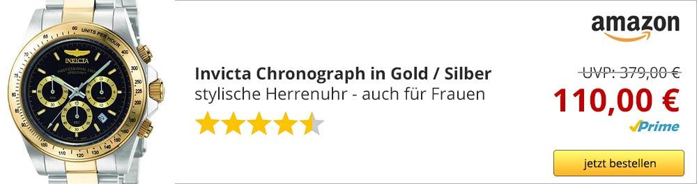 invicta-chronograph-gold-silber-frauenuhr-herrenuhr