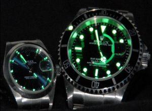 leuchtzeiger-uhr-rolex-Submariner-Oyster-Date
