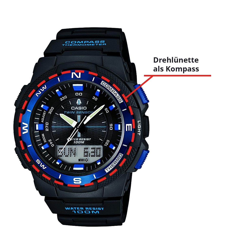 So funktioniert die Lünette bei Armbanduhren