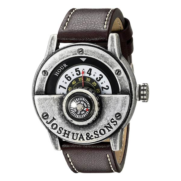 outdoor-uhr-joshua-and-sons-mit-kompass-analog