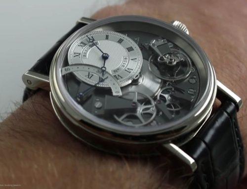 Retrograde Uhren