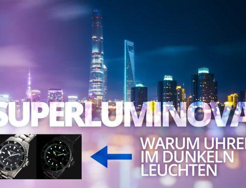 Superluminova, Tritium, Radium – Warum Uhren im Dunkeln leuchten
