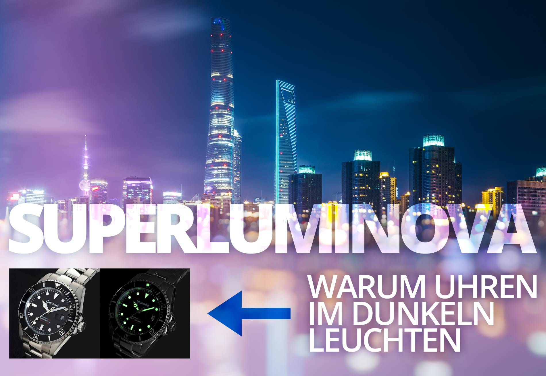 superluminova tritium radium warum uhren im dunkeln leuchten. Black Bedroom Furniture Sets. Home Design Ideas