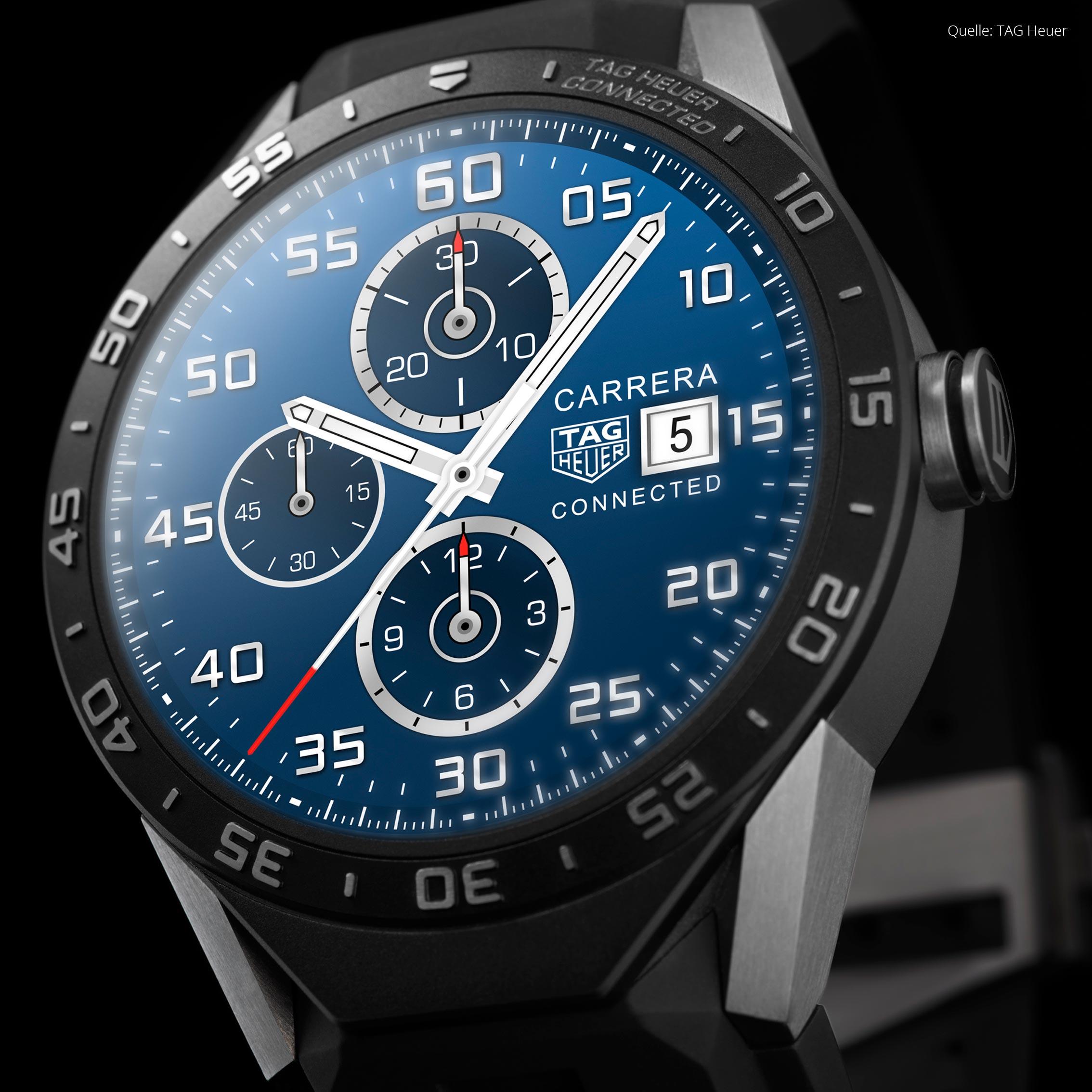 TAG Heuer Uhren - die perfekten Herrenuhren mit Schweizer Präzision