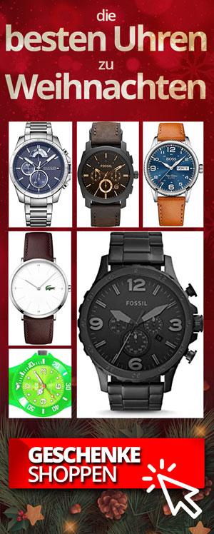 Uhren Geschenkidee Weihnachten