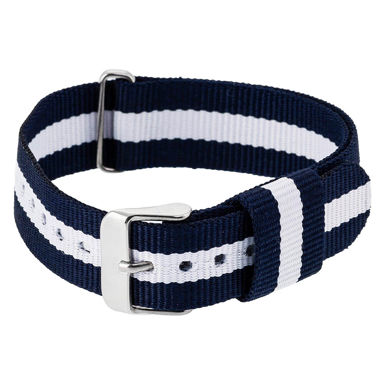 herrenuhren mit textilarmband nylonarmband nato armband stylisch. Black Bedroom Furniture Sets. Home Design Ideas