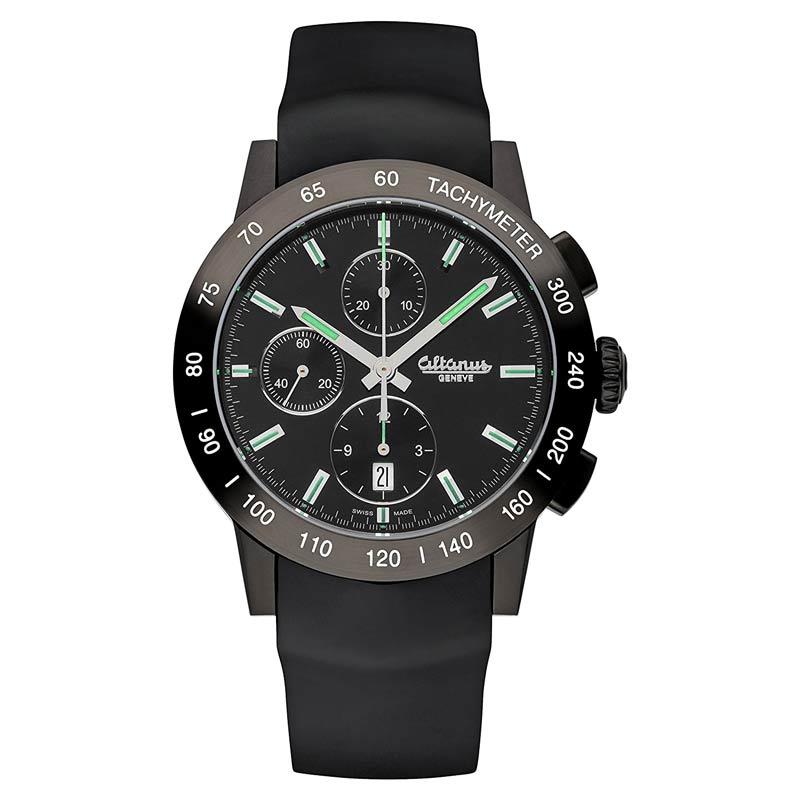 ALTANUS-GENEVE-Master-Sport-Automatik-Chronograph-ETA-7750-Uhrwerk