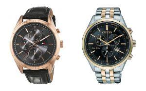 Business-Uhren-mit-Lederarmband-und-Metallarmband