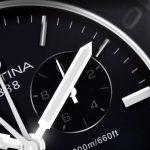 Certina-Aqua-DS-First-Herrenuhr-in-Silber-Schwarz