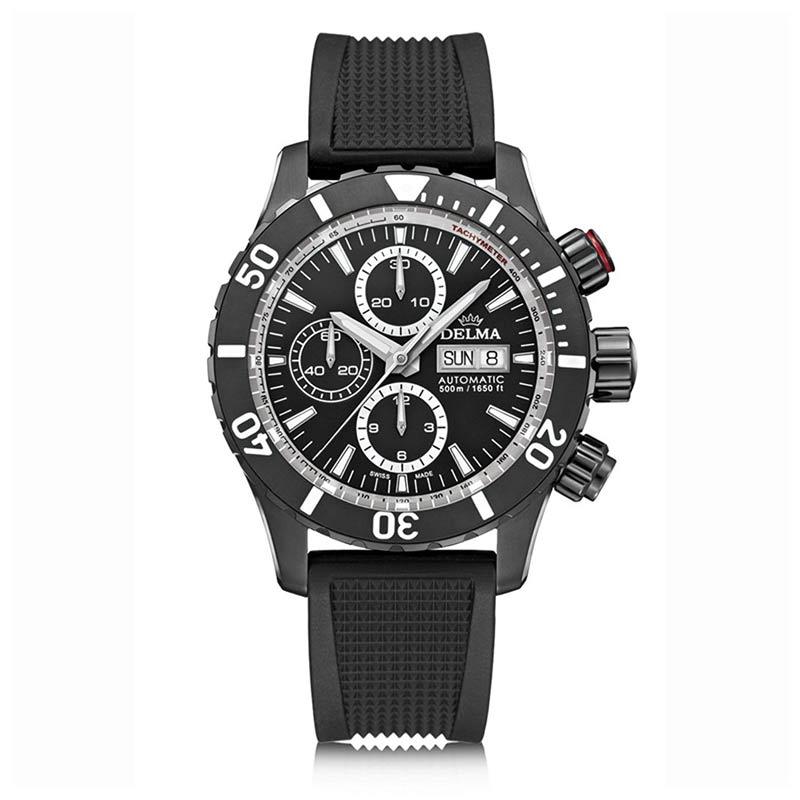 Delma-Montego-Automatik-Chronograph-ETA-Valjoux-7750-Uhrwerk