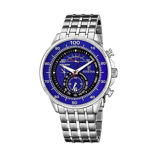Festina-Herren-Armbanduhr-F6830-3-in-Blau-Schwarz