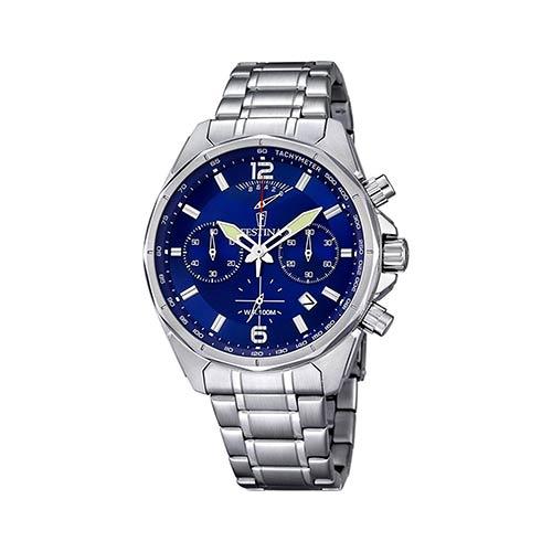 Festina-Herren-Armbanduhr-F6835-3-in-Blau-Silber