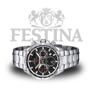 Festina-Herrenuhr-F6836-4-Sport-Chronograph-Silber-Edelstahl