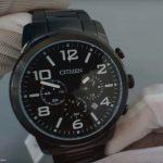 Sportliche-Maenneruhr-von-Citizen-mit-kratzfestem-Uhrenglas