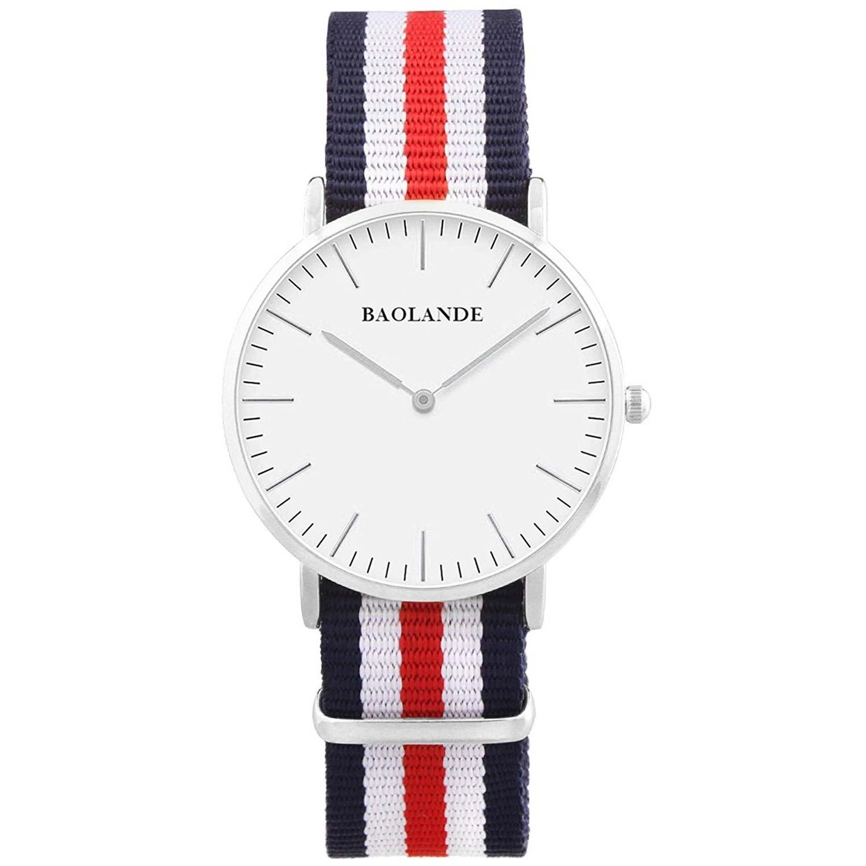 Alienwork-Analoguhr-mit-Nato-Armband-U04820G-01-preiswerte-Uhr-fuer-Maenner-und-Frauen