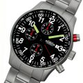 Astroavia-Fliegeruhr-N97S-guenstiger-Chronograph-Edelstahl-Armband-2