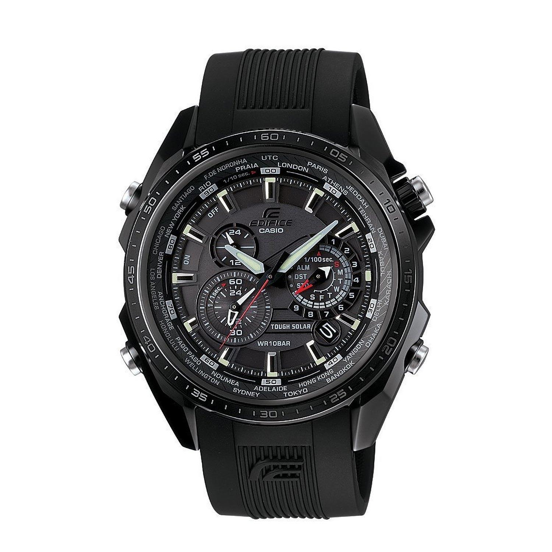 Casio-Herren-Solar-Armbanduhr-EQS-500C-1A1ER-mit-Resin-Armband