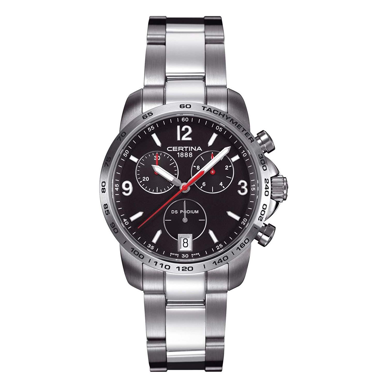 Certina-DS-Podium-Chronograph-C001.417.11.057.00-sportliche-Herrenuhr-mit-Quarzuhrwerk
