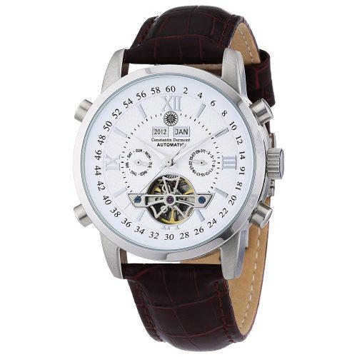 Constantin-Durmont-Herren-Armbanduhr-Analog-Automatikuhr-mit-Lederarmband-1